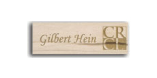 "1"" x 3"" Wooden Name Tags"