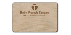 "2"" x 3"" Blank Wood Tags with Engraved Logo"