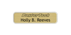 "2"" x 8"" Wall Name Plate with Designer Frame With Logo"