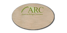 Oval Blank Name Tags with Full Color Logo